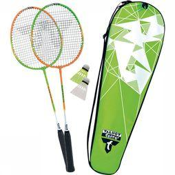 Talbot Torro Toys Badminton Set 2 Attacker Lime/orange