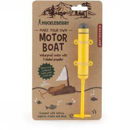 Kikkerland Jouets Hb Make Your Own Motor Boat Jaune Moyen/Noir