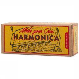 Kikkerland Speelgoed Make Your Own Harmonica Goud