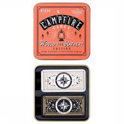 "Gentlemen's Hardware Jouets Campfire ""Would You Rather"" Game Pas de couleur"