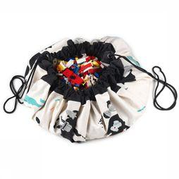 PLAY & GO Jouet The Ultimate Storage Bag Noir Moyen/Blanc