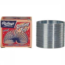 Ridley's Speelgoed Spring Toy Zilver