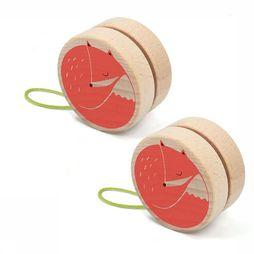 Londji Speelgoed Fox Yoyo light brown/camel
