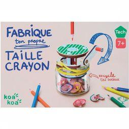 Koa Koa Jouets  Make Your Own Pencil Sharpener Pas de couleur