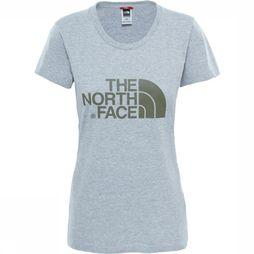 T-Shirt Shortsleeve Easy Heather Grey