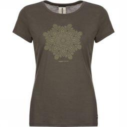Supernatural T-Shirt Everyday  Mandala Donkerkaki