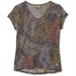 Royal Robbins T-Shirt Featherweight dark grey/Assortment Flower