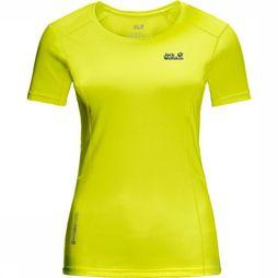 Jack Wolfskin T-Shirt Narrows Lime