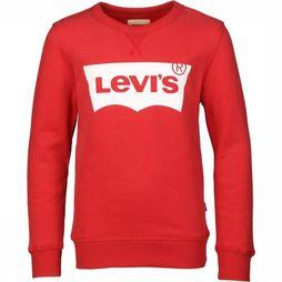 Levi's Kids Pullover Bat Wing red