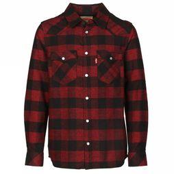 Levi's Kids Shirt Nm12057 red/black