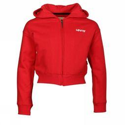 Levi's Kids Cardigan Zipper Madai Rood