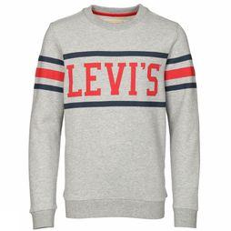 Levi's Kids Pullover Nn15127 Light Grey Mixture