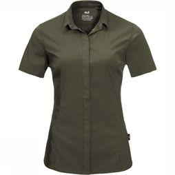 Jack Wolfskin Shirt JWP Pack And Go! dark green