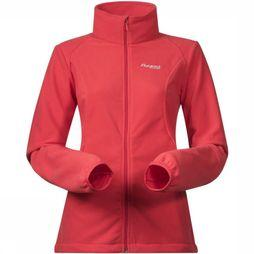 Bergans Fleece Park City red/exceptions