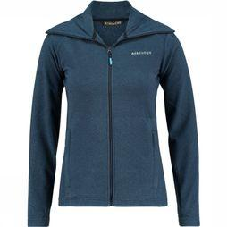 Ayacucho Fleece Crevasse High Collar Marine