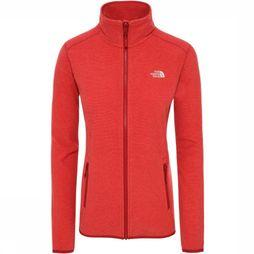 The North Face Fleece 100 Glacier Middenrood