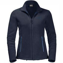 Jack Wolfskin Fleece Moonrise Eco dark blue