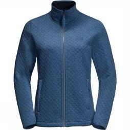 Jack Wolfskin Fleece Mila dark blue