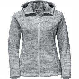 Jack Wolfskin Fleece Aquila Hooded light grey