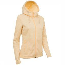 Ayacucho Fleece Chilly Spring Hoody yellow/white