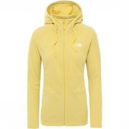 The North Face Fleece Mezzaluna Geel