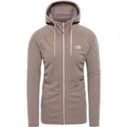 The North Face Fleece Mezzaluna dark pink