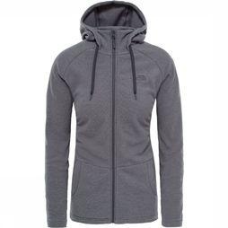 The North Face Fleece Mezzaluna dark grey