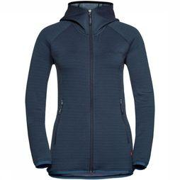 Vaude Fleece Miskanti Fleece Marineblauw