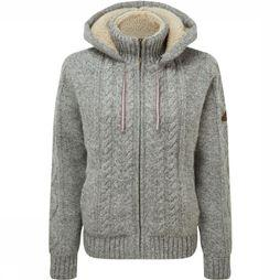 Sherpa Fleece Kirtipur Cable Knit light grey