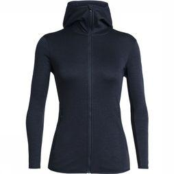Fleece Elemental LS Zip Hood