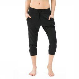 Supernatural Capri Essential Crop Noir