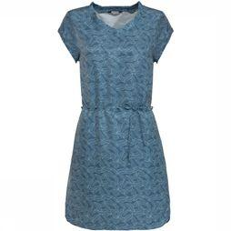 Vaude Robe Lozanna Dress II Bleu Moyen