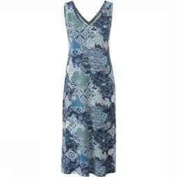 Sherpa Dress Padma Midi blue/Assortment Flower
