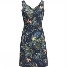 Jack Wolfskin Dress Wahia Tropical blue/Assortment Flower