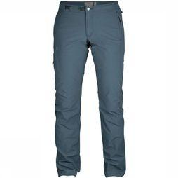 Fjällräven Trousers High Coast Trail mid blue