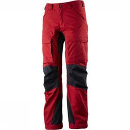 Lundhags Trousers Authentic red/black
