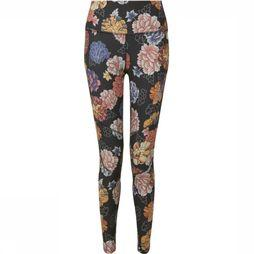 Sherpa Trousers Sapna Printed Legging black/Assortment Flower