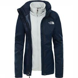 The North Face Jas Evolve II Triclimate Marineblauw