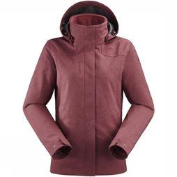 Lafuma Coat Caldo Heather 3In1 mid pink