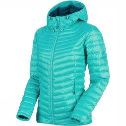Mammut Doudoune Convey IN Hooded Turquoise