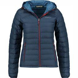 Ayacucho Coat Himalaya III Down Hooded Wp dark blue