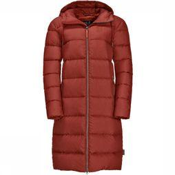 Jack Wolfskin Down Jacket Crystal Palace rust