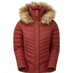 Sprayway Manteau Woodville Down Rouge Foncé