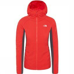 The North Face Coat Ventrix Hybrid mid red/mid grey