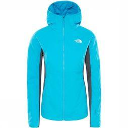 The North Face Coat Ventrix Hybrid mid blue/mid grey