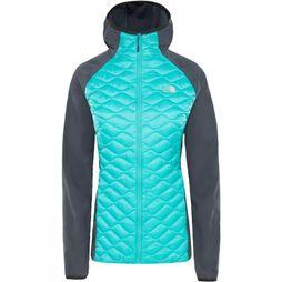The North Face Jas Thermoball Donkergrijs/Petrol