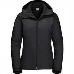 Jack Wolfskin Coat Gotland 3In1 black