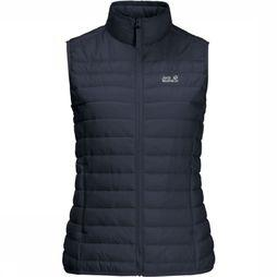Jack Wolfskin Bodywarmer JWP Pack And Go! Marineblauw