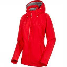 Mammut Coat Ayako Tour HS Hooded mid red