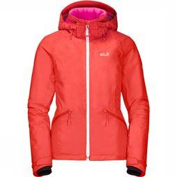 Jack Wolfskin Jas Powder Mountain Oranje